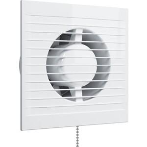 Вентилятор Era осевой с обратным клапаном и тяговым выключателем D 125 (E 125 C -02)