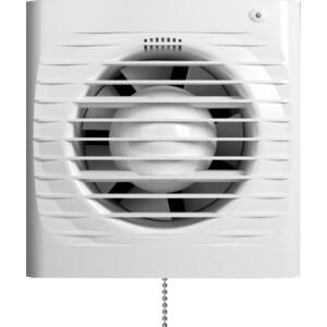 Вентилятор Era осевой вытяжной с антимоскитной сеткой с индикацией работы с таймером и тяговым выключателем D100 (ERA 4S ET-02)