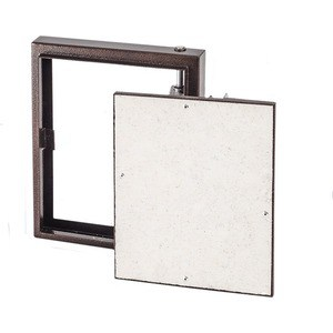 Люк EVECS под плитку на петле окрашенный металл 400х500 (D4050 ceramo steel) люк evecs d6090 ceramo steel