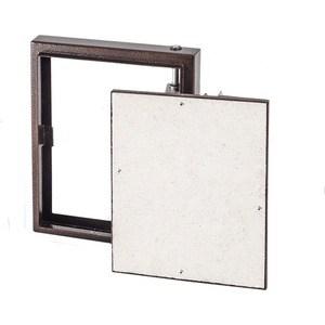 Люк EVECS под плитку на петле окрашенный металл 500х500 (D5050 ceramo steel) hdd pod