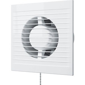 Вентилятор AURAMAX осевой вытяжной с тяговым выключателем D 100 (A 4-02) вентилятор auramax осевой вытяжной со шнуровым тяговым выключателем d 125 optima 5 02