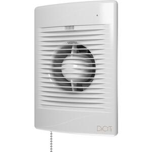 Вентилятор DiCiTi осевой вытяжной с индикацией работы таймером и тяг.выкл. D125 (STANDARD 5ET-02) вентилятор осевой d125 мм era 5s et с таймером