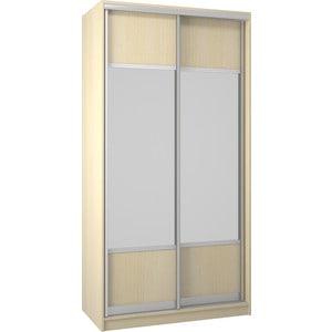 Шкаф Премьер Бостон 1100/1 Дуб кремона песочный Зеркало+Зеркало