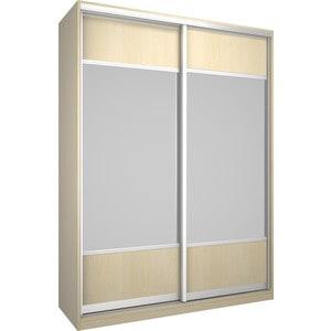Шкаф Премьер Бостон 1600 Дуб кремона песочный Зеркало+Зеркало