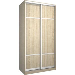Шкаф Премьер Бостон 1100/2 Дуб Сонома ДСП+ДСП дверь раздвижная 804х2250мм дсп дуб сонома