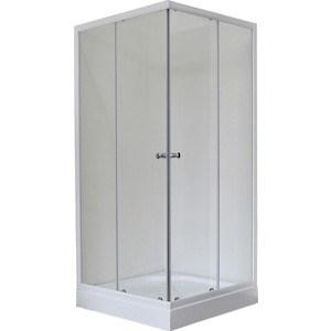 Душевой уголок Royal Bath 80*80*198 стекло прозрачное (RB80HP-T) душевой уголок royal bath 120 80 198 стекло прозрачное правый rb8120hp t r