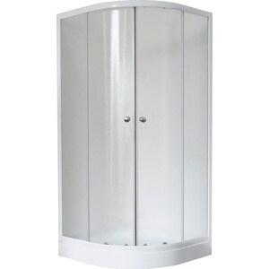 Душевой уголок Royal Bath 100*100*198 стекло шиншилла (RB10HKC) 100