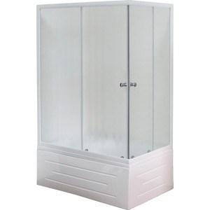 Душевой уголок Royal Bath 100*80*200 стекло шиншилла левый (RB810BP-C-L)