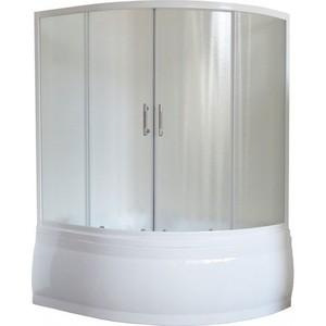 Душевая шторка на ванну Royal Bath Alpine стекло шиншилла (RB150ALP-C) экран для ванны royal bath alpine 170