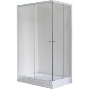 Душевой уголок Royal Bath 120*80*198 стекло прозрачное левый (RB8120HP-T-L)