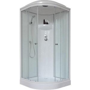 все цены на  Душевая кабина Royal Bath 90х90х217 стекло матовое/прозрачное (RB90HK4-MT)  онлайн