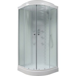 Душевая кабина Royal Bath 100х100х217 стекло белое/шиншилла (RB100HK3-WC)