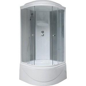 Душевая кабина Royal Bath 90х90х217 стекло матовое/прозрачное (RB90BK4-MT)