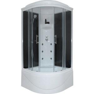 Душевая кабина Royal Bath 90х90х217 стекло черное/прозрачное (RB90BK3-BT) душевая кабина royal bath 120х80х217 стекло левая белое прозрачное rb8120bp3 wt l