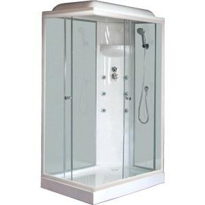 Душевая кабина Royal Bath 120х80х217 стекло правая белое/прозрачное (RB8120HP3-WT-R)