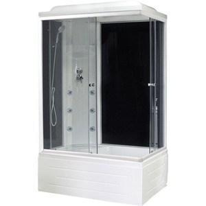 Душевая кабина Royal Bath 100х80х217 стекло левая черное/прозрачное (RB8100BP3-BT-L) душевая кабина royal bath 120х80х217 стекло левая белое прозрачное rb8120bp3 wt l