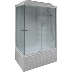 Душевая кабина Royal Bath 120х80х217 стекло правая белое/шиншилла (RB8120BP3-WC-R)