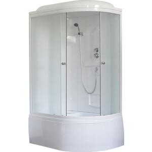 Душевая кабина Royal Bath 120х80х217 стекло матовое левая (RB8120BK1-M-L) душевая кабина royal bath 120х80х217 стекло левая белое прозрачное rb8120bp3 wt l