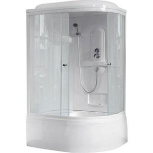 Фотография товара душевая кабина Royal Bath 120х80х217 стекло прозрачное левая (RB8120BK1-T-L) (678832)