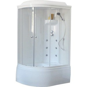 Душевая кабина Royal Bath 120х80х217 стекло белое/прозрачное правая (RB8120BK3-WT-R)