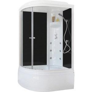 Душевая кабина Royal Bath 120х80х217 стекло черное/прозрачное правая (RB8120BK3-BT-R) душевая кабина royal bath 120х80х217 стекло левая белое прозрачное rb8120bp3 wt l