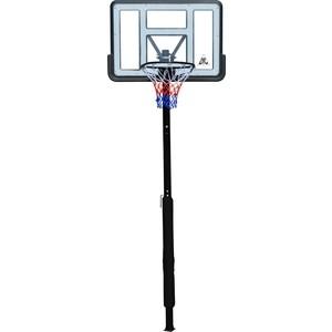 Баскетбольная стационарная стойка DFC ING44P1 112x75 см акрил винтовая регулировка баскетбольная стационарная стойка dfc ing44p1 112x75 см акрил винтовая регулировка