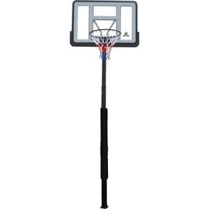Баскетбольная стационарная стойка DFC ING44P3 112x75 см акрил раздвижная регулировка