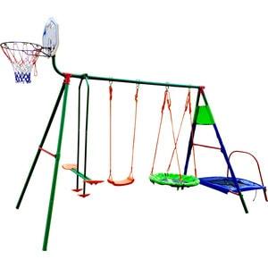 Детский комплекс DFC с батутом и баскетболом MTB-01 цена и фото