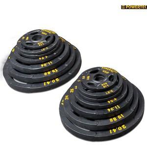Набор олимпийских дисков Powertec 255 LBS powertec wb cma13