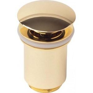 Донный клапан для раковины Kaiser золото (8011GOLD)