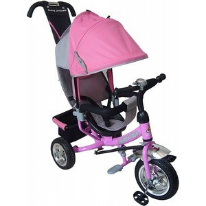 все цены на Трехколесный велосипед Lexus Trike Racer Trike (MS-0531) розовый онлайн