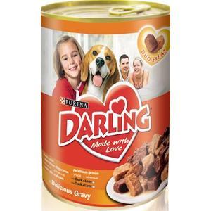 Консервы Darling Made with Love Duo Meat Duck & Liver с уткой и печенью для собак 1,2кг (12067970)
