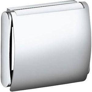 Держатель туалетной бумаги с крышкой Keuco Plan (14960010000) держатель туалетной бумаги lemark omega с крышкой lm3134c