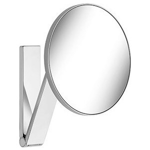Зеркало косметическое круглое Keuco iLook_ move, без подсветки (17612010000) зеркало шкаф аквамаста николь 50r правостороннее без подсветки