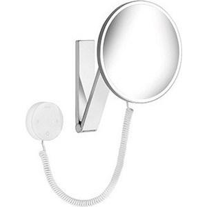 Зеркало косметическое круглое Keuco iLook_ move, с 2-мя подсветками и сенсорной панелью (17612019000) зеркало косметическое прямоугольное keuco ilook move без подсветки 17613010000
