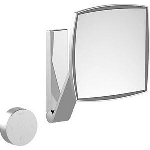 Зеркало косметическое прямоугольное Keuco iLook_move, с подсветкой и скрытой сенсорной панелью (17613019002) зеркало косметическое belberg bz 02 с подсветкой