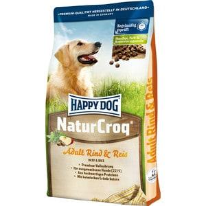 Сухой корм Happy Dog NaturCroq Adult Beef & Rice с говядиной и рисом для взрослых собак всех пород 15кг (02445) корм для взрослых собак малых пород pedigree с говядиной 2 2 кг