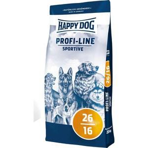 Сухой корм Happy Dog Profi-Line Sportive 26/16 с мясом птицы для взрослых собак с умеренными нагрузками 20кг (02576) корм сухой happy dog renal для собак с почечной недостаточностью 12 5 кг