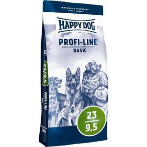 Сухой корм Happy Dog Profi-Line Basic 23/9,5 с мясом птицы для взрослых собак всех пород 20кг (03129) корм сухой happy dog renal для собак с почечной недостаточностью 12 5 кг