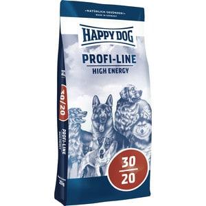 Сухой корм Happy Dog Profi-Line High Energy 30/20 с мясом птицы для взрослых собак с высокой активностью 20кг (03160) energy
