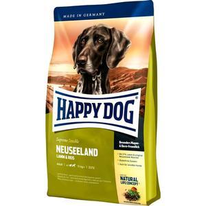 Сухой корм Happy Dog Supreme Sensible Adult 11kg+ Neuseeland Lamb & Rice с ягненком и рисом для собак средних и крупных пород 12,5кг (03534) сухой корм happy dog mini adult 1 10kg neuseeland lamb
