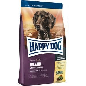 Сухой корм Happy Dog Supreme Sensible Adult 11kg+ Irland Salmon & Rabbit с лососем и кроликом для собак средних и крупных пород 12,5кг (03538) сухой корм happy dog supreme sensible adult 11kg neuseeland lamb