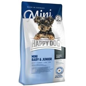 Сухой корм Happy Dog Mini Baby & Junior 1-12 Monat 10kg для щенков и юниоров мелких пород до 10кг 1кг (03411-03409) 2018 winter children clothing set russia baby girl snow wear boy s outdoor snowsuit kids down coats jackets trousers 30degree