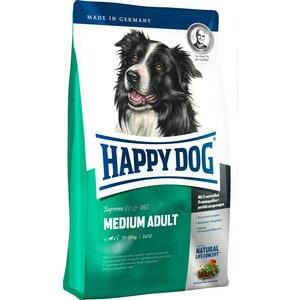 Сухой корм Happy Dog Supreme Fit & Well Medium Adult 11-25kg с мясом птицы облегченный для собак средних пород 12,5кг (60007) корм сухой happy dog renal для собак с почечной недостаточностью 12 5 кг