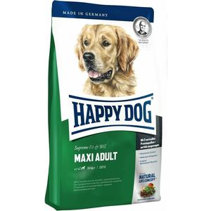 Сухой корм Happy Dog Supreme Fit & Well Maxi Adult 26kg+ с мясом птицы облегченный для собак крупных пород 15кг (60013) tunacoco japanese kokuyo wcn s6090 traveler notebook simple scheduel book bullet journal school office supplies bz1710063
