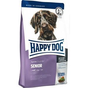 Сухой корм Happy Dog Supreme Fit & Well Senior 11kg+ с мясом птицы облегченный для пожилых собак средних и крупных пород 12,5кг (60025) фурминатор для собак короткошерстных пород furminator short hair large dog
