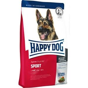 Сухой корм Happy Dog Supreme Fit & Well Sport 11kg+ с мясом птицы облегченный для активных собак средних и крупных пород 15кг (60030) сухой корм happy dog supreme sensible adult 11kg neuseeland lamb