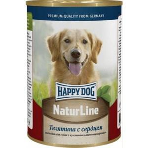 Консервы Happy Dog Natur Line телятина с сердцем для собак 400г (71427) дмитрий быков лекция ахматова и гумилев история великих пар
