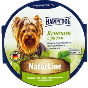 Консервы Happy Dog Natur Line ягненок с рисом для собак 85г (71498)