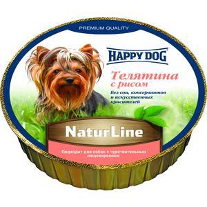 Консервы Happy Dog Natur Line телятина с рисом для собак 85гр (71501) томск боярышник для рассасывания natur produkt